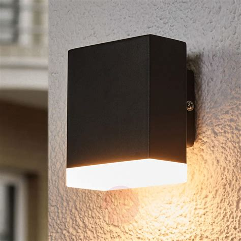 modern led outdoor wall l aya in black lights ie