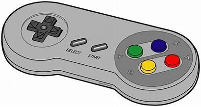 Controller Nintendo Clip Clipart Nes Control Cartoon