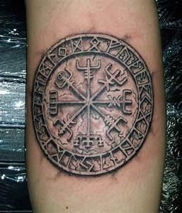 70 Viking Tattoos For Men - Germanic Norse Seafarer ...