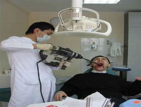 funny pictures  dentist