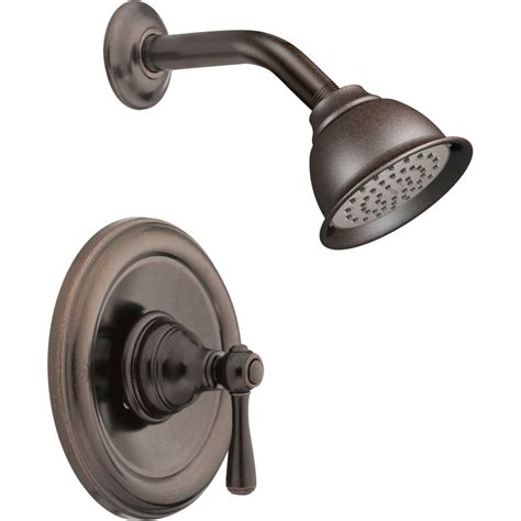 Free Kitchen Island - moen t2112orb kingsley oil rubbed bronze one handle shower only faucets efaucets com