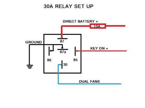 Electric Fans With Relay Wiring Fan Car Audio