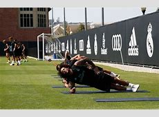 Real Madrid Training Real Madrid CF