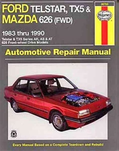 auto manual repair 1984 mazda 626 parking system ford telstar tx5 mazda 626 fwd 1983 1990 haynes service repair manual sagin workshop car
