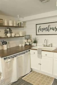 Stunning, Small, Farmhouse, Kitchen, Decor, Ideas, Best, For, Your, Farmhouse, Design, 29