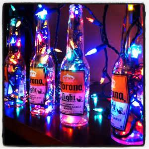 Outdoor Christmas Decorations Ideas Pinterest by Reuse Old Beer Bottles For Decoration Great Party Decor