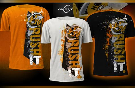athletic shirt design t shirt design for crush it athletic gear print design