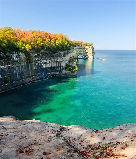 Boat Tours Of Pictured Rocks National Lakeshore by Cruising Grand Portal Point Snap Happy Gal Photography