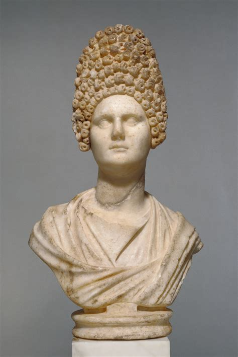 Bust of a Flavian Woman (Getty Museum)