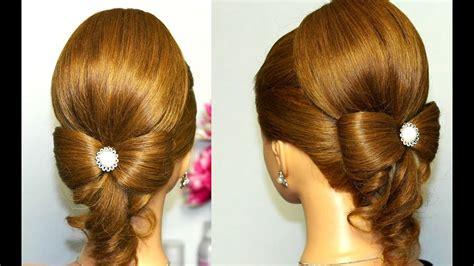 Hairstyle For Hair by Hairstyle For Hair Hair Bow Wedding Updo Tutorial
