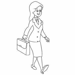 Business Man Coloring Pages: Business Man Coloring Pages ...
