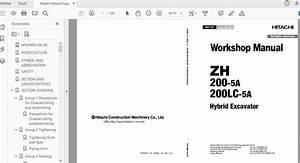 Hitachi Hydraulic Excavator Zx35