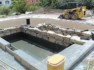 Construction Piscine Naturelle : fabrication d une piscine naturelle maison parallele ~ Melissatoandfro.com Idées de Décoration
