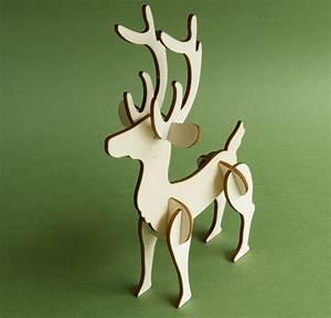 Laser Cut Reindeer notes robives