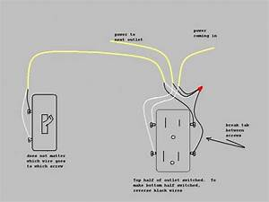 Which Receptacle Does Wall Switch Control