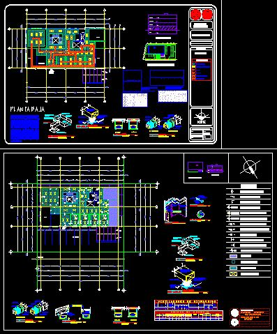 air conditioning dwg detail for autocad designscad