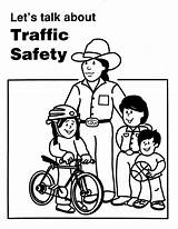 Coloring Safety Road Pages Signs Template Traffic Popular Sketch sketch template
