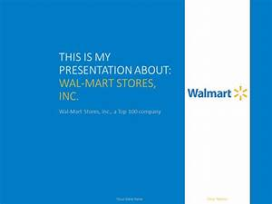 wal mart powerpoint template presentationgocom With walmart powerpoint template