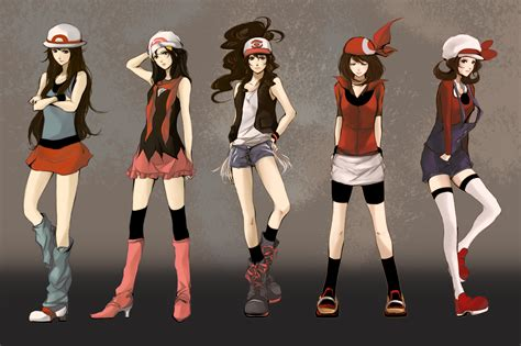 See more ideas about pokemon, anime, pokemon art. Girls from Pokemon wallpapers and images - wallpapers, pictures, photos