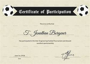 sports day certificate templates free - sports day football certificate design template in psd word