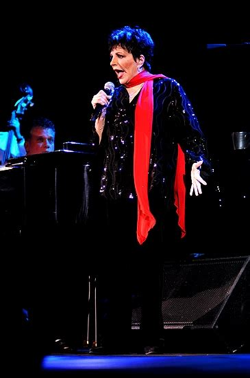 Liza minnelli has been forced to cancel a number of concerts. Photo Coverage: Liza Minnelli Returns to the Concert Stage!