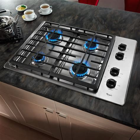 whirlpool wcgxw   gas cooktop   sealed