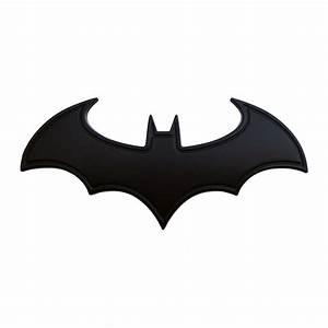 Dark Knight Batman Logo Car Badge (Black)