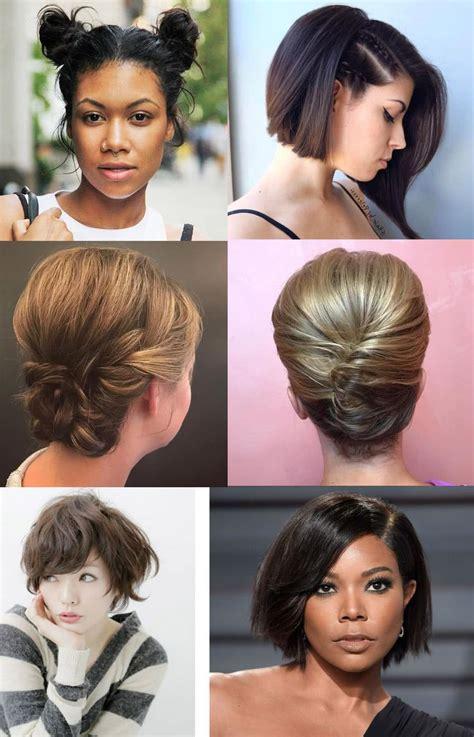 Peinados para cabello corto 2021 2020 Moda Top Online