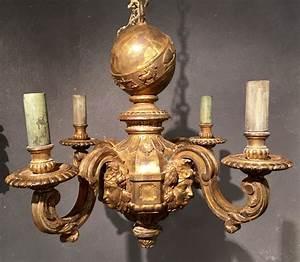 Lustre En Bois : lustre en bois dor d apr s un mod le d andr charles boulle paris vers 1850 xixe si cle n ~ Teatrodelosmanantiales.com Idées de Décoration