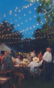 Simply spectacular rustic ranch wedding for Outdoor wedding reception lighting