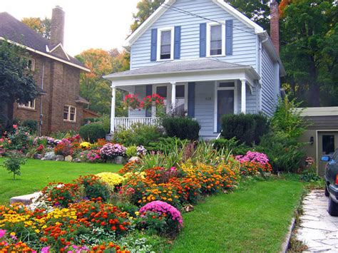 fall landscaping ideas  front yards jcs landscaping llc