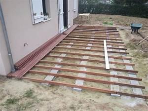 Lame De Terrasse Composite Longueur 4m : r cit construction terrasse bois exotique 13 messages ~ Melissatoandfro.com Idées de Décoration
