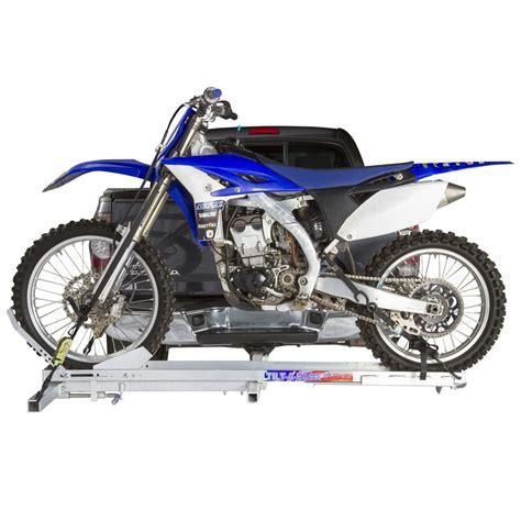 Tiltarack Aluminum Tilting Motorcycle Carriers  400 Lb
