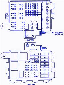 Chevrolet 1500 Extended Pick Up 1997 Fuse Box  Block Circuit Breaker Diagram