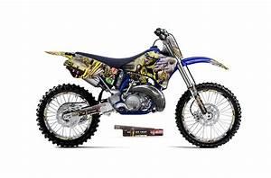 Yamaha Yz250 2 Stroke Dirt Bike Graphics  Iron Maiden