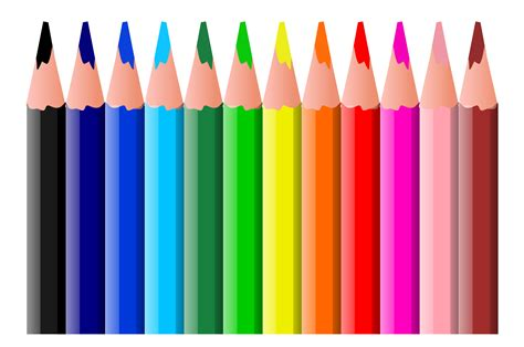 colored pencils clipart clipart panda  clipart images
