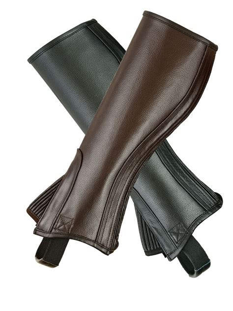 Grain Cowhide Leather - top quality grain cowhide leather half chaps
