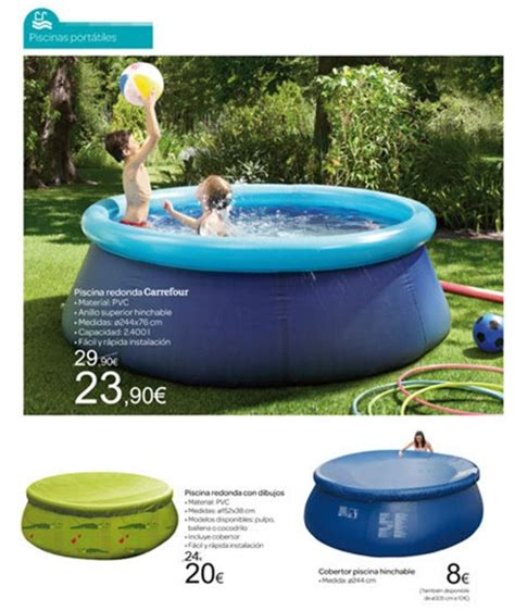 photo piscine gonflable carrefour