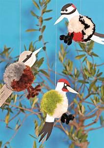 Vögel Basteln Zum Aufhängen : basteln mit kindern aduis ~ A.2002-acura-tl-radio.info Haus und Dekorationen