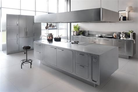 interiors cuisine designed ergonomic and hygienic stainless steel
