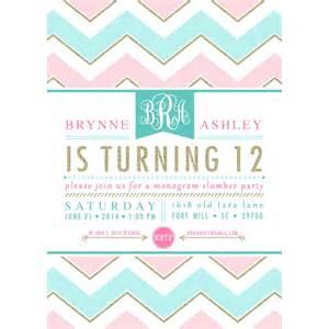 Printable Sleep Over Birthday Party Invitations for Teens