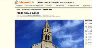 Fiat 500 Le Bon Coin : une glise vendre dans le bon coin le journal du musulman ~ Gottalentnigeria.com Avis de Voitures