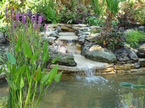 Garden Ponds And Waterfalls