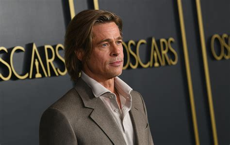 brad pitts baftas  message proves    named