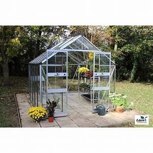 Kit Serre De Jardin : serre de jardin blockley verre tremp 9 7 m kit ~ Premium-room.com Idées de Décoration