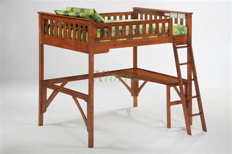 bed with ladder and desk affordable wooden loft bunk bed full size with ladder and