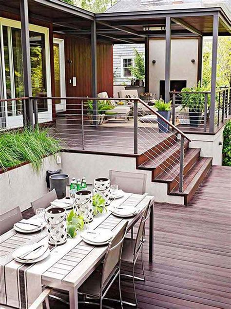 Home Deck Design Ideas by 32 Wonderful Deck Designs To Make Your Home Extremely Awesome