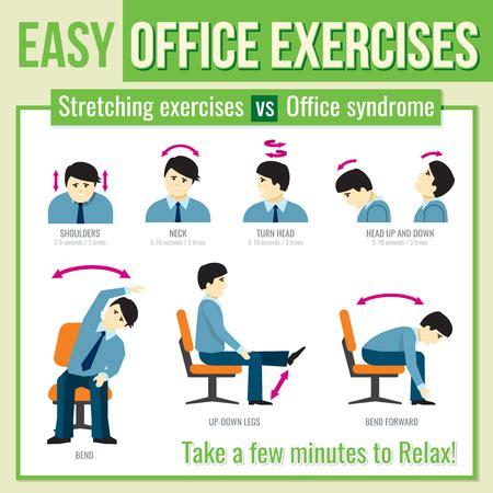 Office Desk Exercises by Best Effective Office Workout Exercises Sportavida
