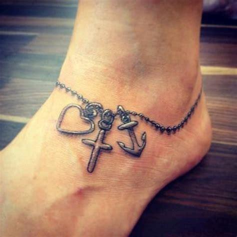 ankle bracelet  inspiring   black  white
