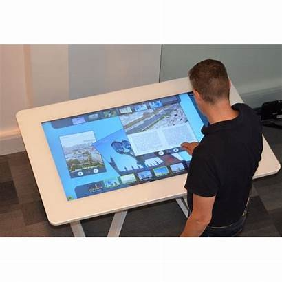 Touch Screen Display Format Interactive Table Experiences